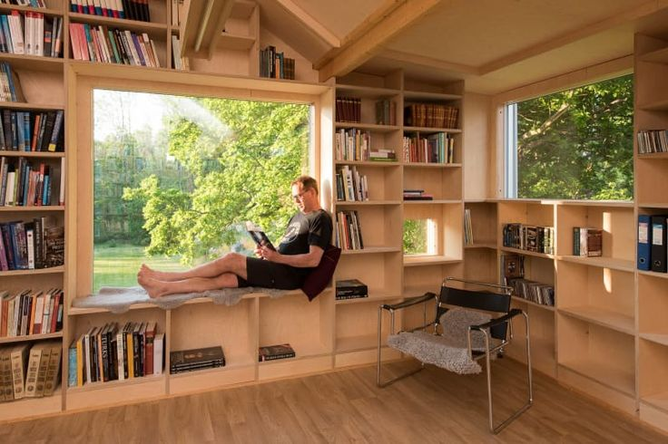 NOMA Arckitekter  · Transformation of an Old Garage into a Library