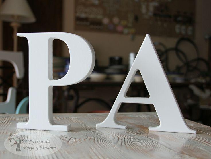 comprar letras en madera decorativas