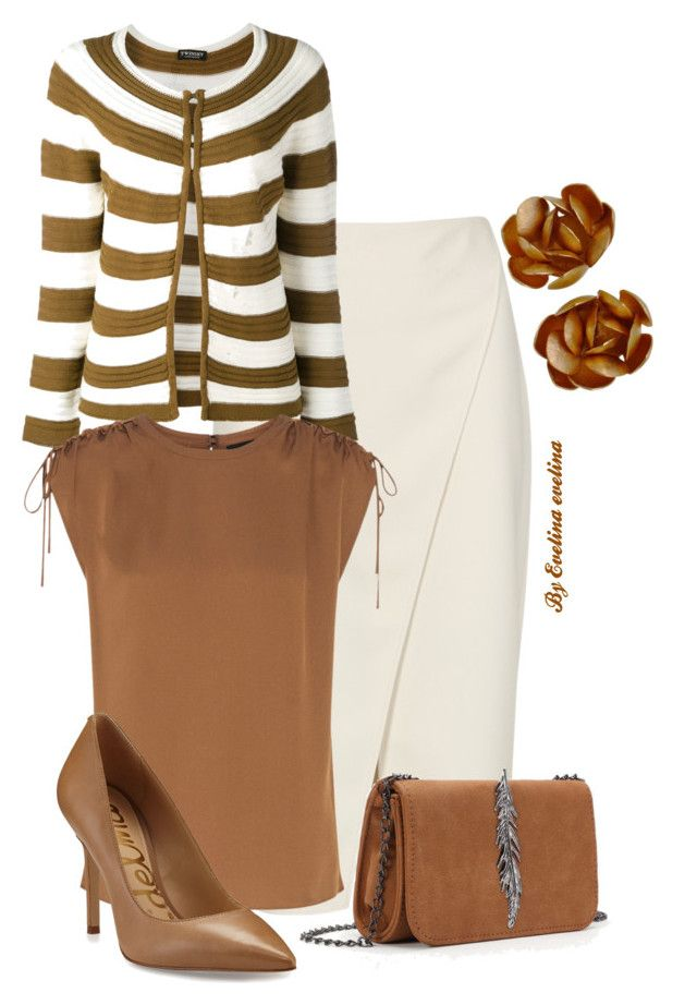 """""""EVE"""" by evelina-er on Polyvore featuring Acne Studios, Twin-Set, Theory and Sam Edelman"""