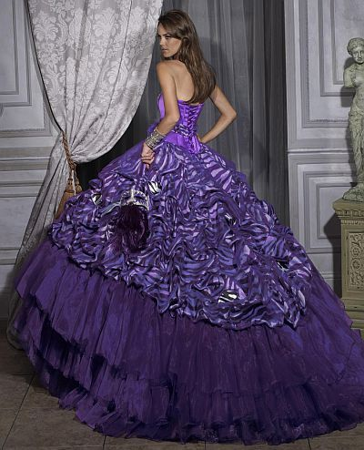 zebra clothing | ... of the Quinceanera Collection Quince Dress by House of Wu 26684 image