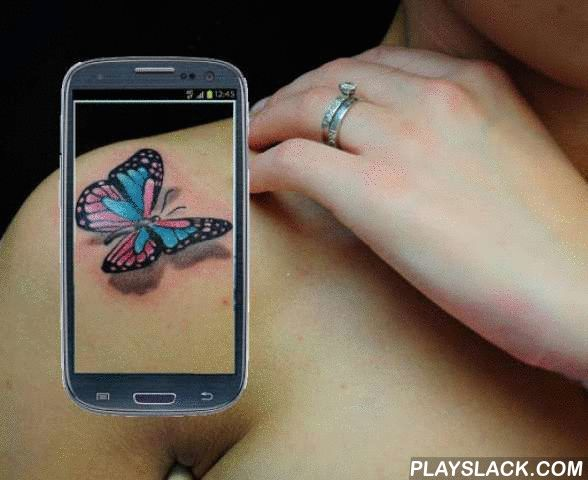 Tattoo Your Body Cam  Android App - playslack.com , With this app you can empress your friend with different and many Tattoos that you can make with your mobile, make many tattoos and share them with friendsHow to use:-Stand in front of your devices camera-Select your favorite tatto design from the tattoo studio-Rotate, shrink, enlarge, ilumine and darken the selected tattoo.-Take a picture and share with your friends!Features:-More than 100 different tattoo designs!-Cat tattoo and tribal…