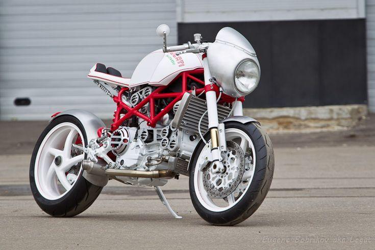 """Yuri Shif Custom - Ducati MS4R """"Bastardo"""""""