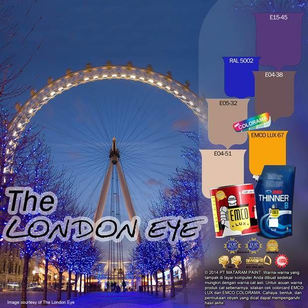 The London Eye #BiasaJadiLuarBiasa #EMCOPaint http://matarampaint.com/detailNews.php?n=345