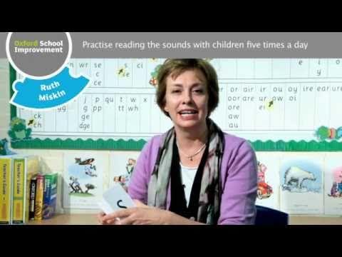 Ruth Miskin:  Teaching you how to teach phonics
