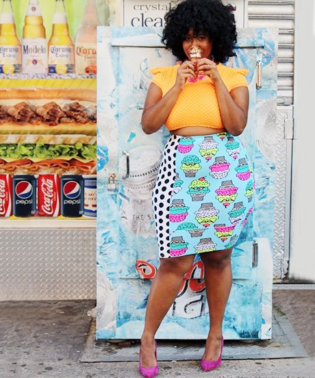 30 Life-Giving Plus-Size #OOTD Snaps  #refinery29  http://www.refinery29.com/plus-size-outfit-ideas