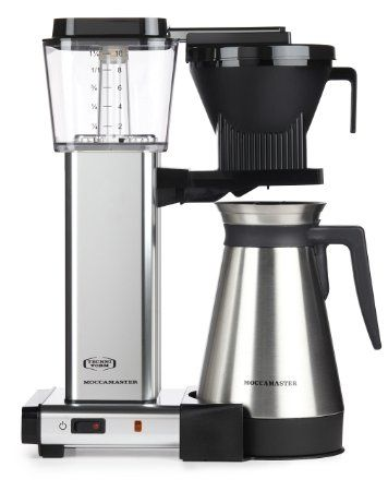 Moccamaster KBGT 10 Cup Coffee Brewer with Thermal Carafe Best