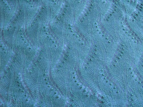 Ravelry: CarlaM's Estonian Triangular Summer Shawl