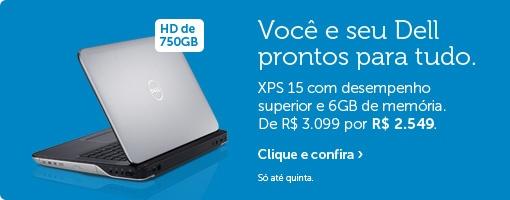 A Dell Brasil oferece Notebooks, Netbooks, Laptops e Tablets de última geração a preços imbatíveis. Uma das maiores distribuidoras de Tecnologia,a Dell oferece equipamentos de alto desempenho e ótimo custo-benefício.     Se você estiver procurando por um notebook confira a seleção Dell- http://www.dell.com/br/p/laptops - Link autorizado por Dell Brasil
