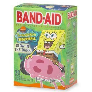Band-Aid - Childrens Band-Aid - Childrens Adhesive Bandages SpongeBob SquarePants Assorted Sizes 2 @ niftywarehouse.com #NiftyWarehouse #Spongebob #SpongebobSquarepants #Cartoon #TV #Show