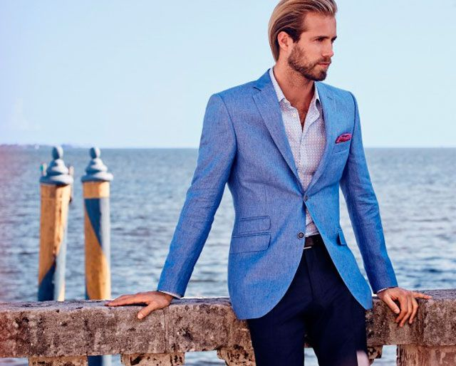 Light Blue Blazer Via House Of Fraser Smart Travel