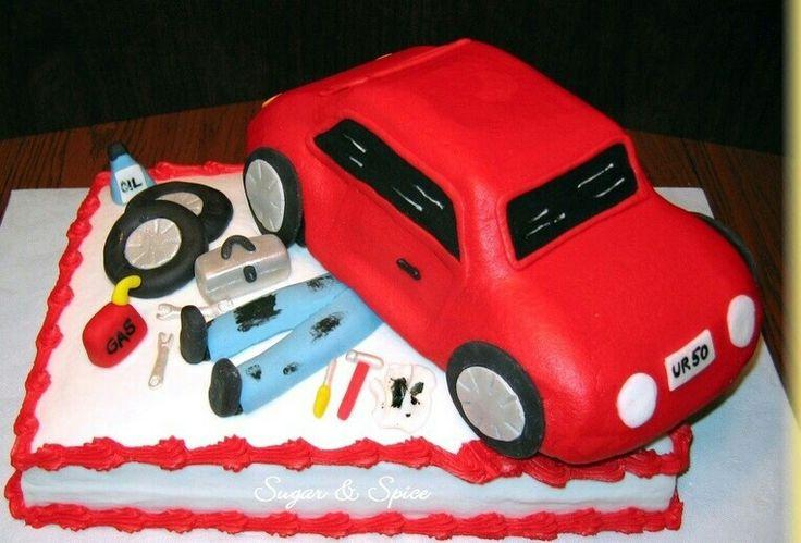 Mechanics Cake Pastel De Carros Pastel Para Pap 225 Y