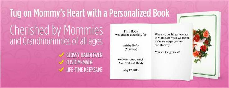 Personalised Story Books for cherished moms