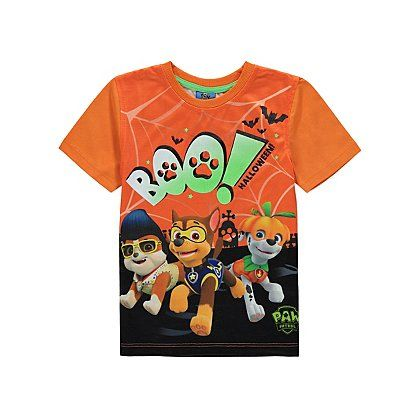 Paw Patrol Halloween Glow in the Dark T-shirt | Kids | George at ASDA