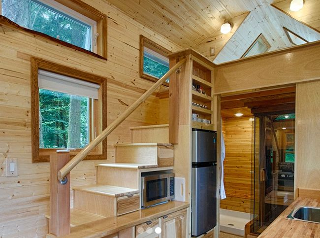 Tiny Home Designs: 118 Best Images About Tiny House Stair Ideas On Pinterest