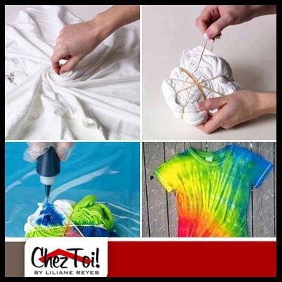 ¿Te encantan las camisas teñidas, pero no encuentras con los colores que te gusten? ¡Hazla tú mismo!