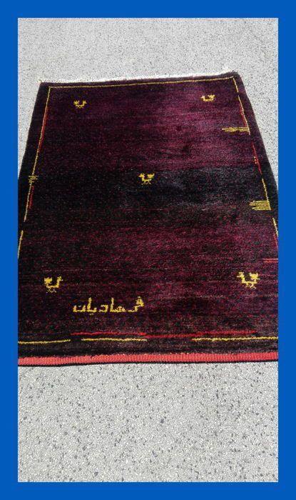 Gabbeh tapijt deken GABBEH - Persia - nomad tapijt ondertekend  Perzisch GABBEH met een heel mooi patroon en sterke kleuren! Traditionele handgeweven Nomad werk deze prachtige Gabbeh werd gemaakt door nomaden / Half-nomaden in een traditionele-het is volledig vrij vankunstmatige materialen.De schapenwol als gevolg van haar kleur tonen een mooie levendige teken toegevoegd.Het is een tijdloos en mooi uniek stuk dat smaakvol hedendaagse vangten modern interieur: een tapijt dat moet…
