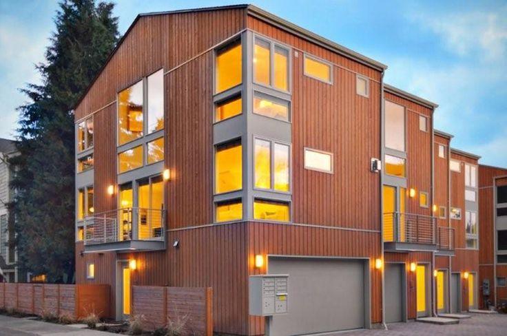 82 best duplex fourplex plans images on pinterest for Prefab 4 plex