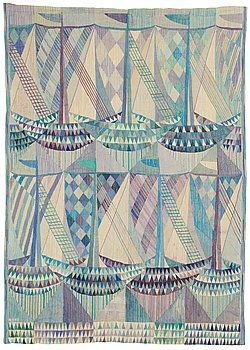 Tapestry, designed in 1961 by Marianne Richter