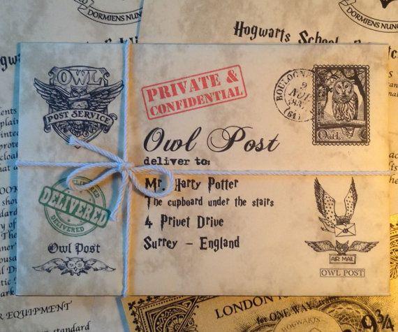 Personalisierte Hogwarts Zulassungsbescheid, personalisierte Harry Potter Brief, Brief von Hogwarts, Harry Potter Geschenk Brief, Custom Harry Potter