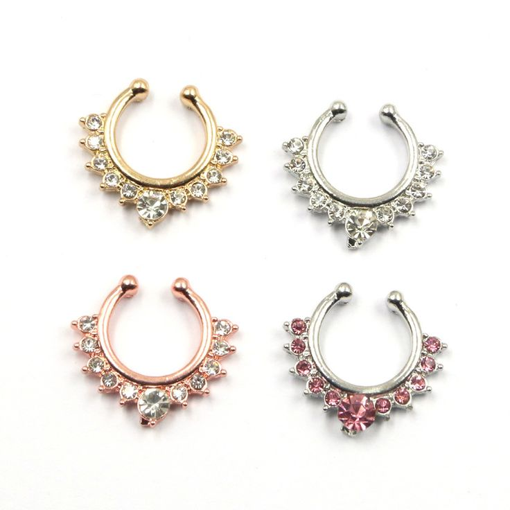 Find More Body Jewelry Information about New arrive fake septum Medical Titanium nose Rings Fake Piercing silver Body Hoop For Women Septum + 2 FAKE Clip Hoop,High Quality hoop crinoline,China titanium earing Suppliers, Cheap titanium disc from Vogue Fashion Jewelry Co.,Ltd on Aliexpress.com