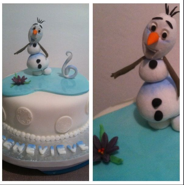 Cake Decoration Olaf : 15 best images about Olaf cake project - Frozen on Pinterest