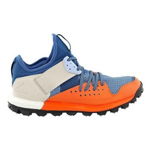 Men's adidas Response Trail Shoe Core Blue/Black/Energy