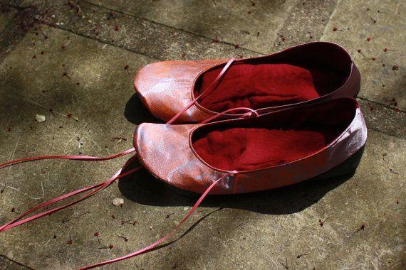 Satin shoes by uku2 on Etsy.com