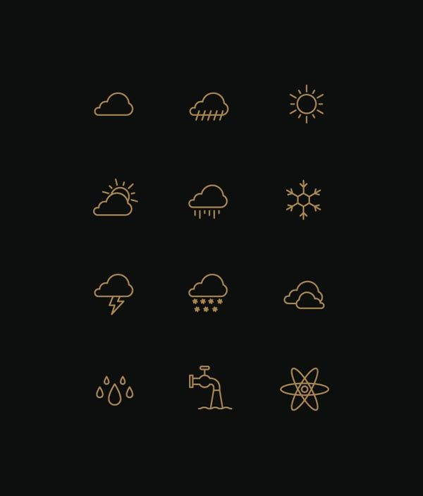 Symbolic Icons by Designer Tim Boelaars - WE AND THE COLOR