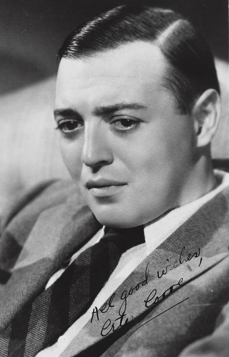 """All good wishes, Peter Lorre"""