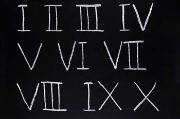 All About Roman Numerals || The Calculator Site