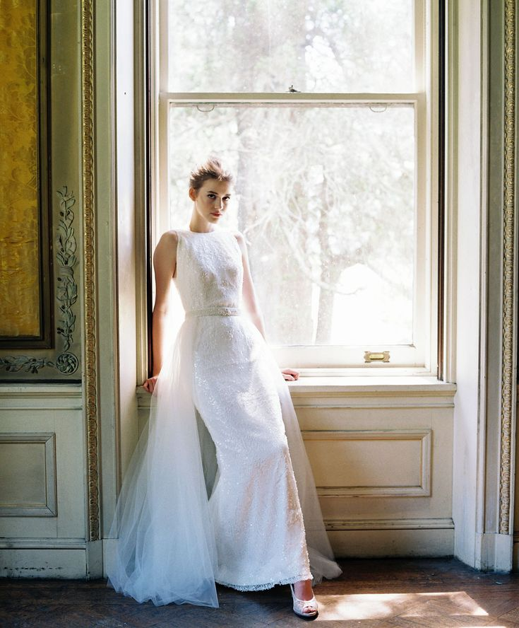 Create a custom wedding dress with separates from Lace & Liberty