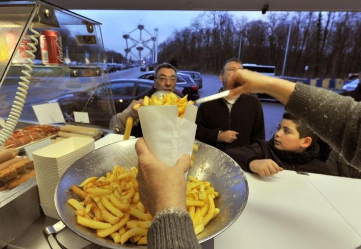 """Are french fries really """"French""""?  Belgium and France both claim to have invented them!"""