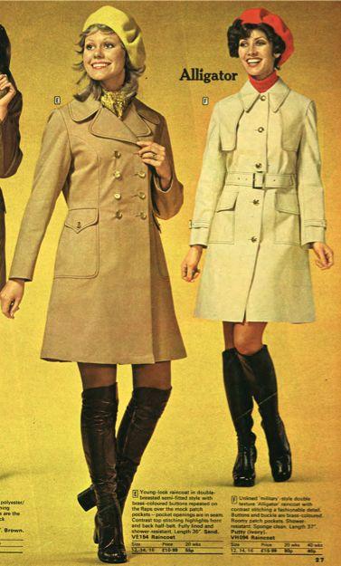 John Moores Autumn Winter 1972 73 70s Pinterest