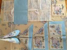 Hvordan brette servietter? Lage pynt til dåpen selv. DIY - enkelt seil - tips og ideer til dåp.