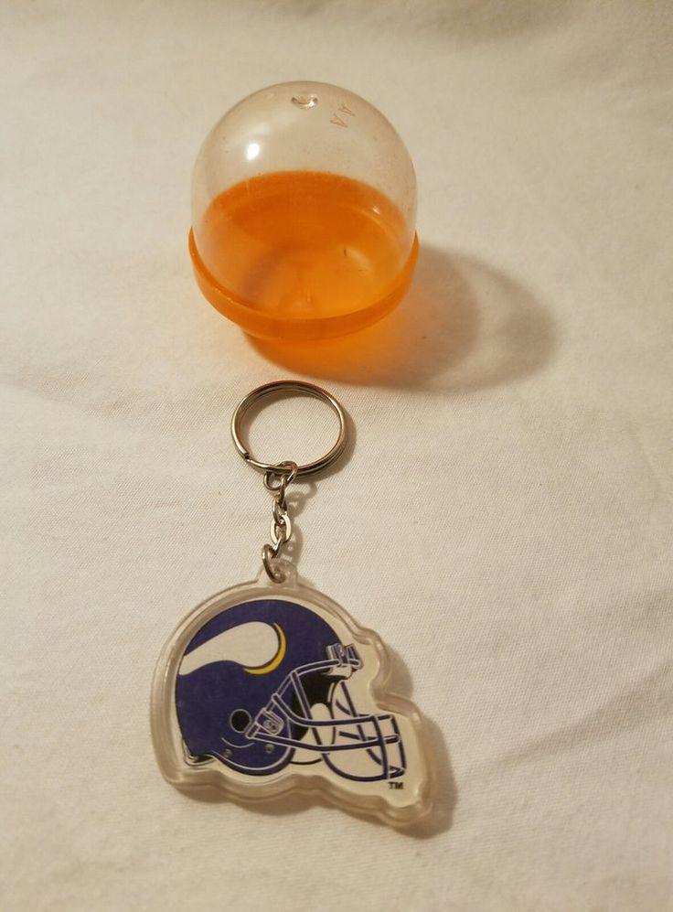 Vintage Football Vending Machine Key Chain Minnesota Vikings #MinnesotaVikings
