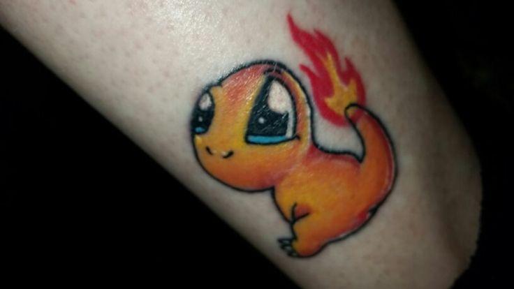 My cute Charmander tattoo