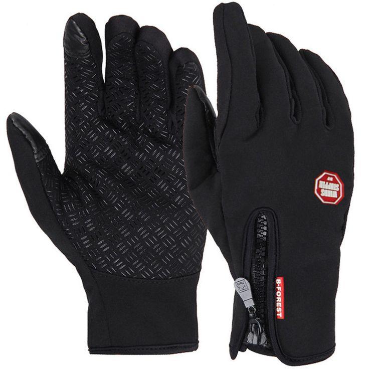 Winddichte Outdoor Sports Skiing-screen-handschuh Radfahren Fahrrad Handschuhe Bergsteigen Military Motorrad Racing Handschuhe