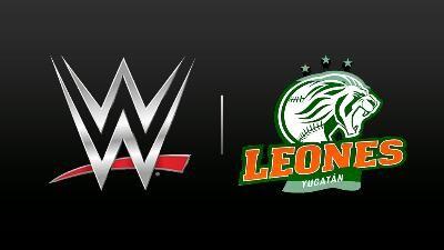"""Mérida, Yuc.- La mascota de los Leones de Yucatán®, Leonel """"El Coronel"""", será parte de toda la emoción y adrenalina que la WWE® llevará a ti..."""