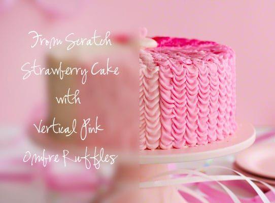 25 Best Ideas About Strawberry Birthday Cake On Pinterest