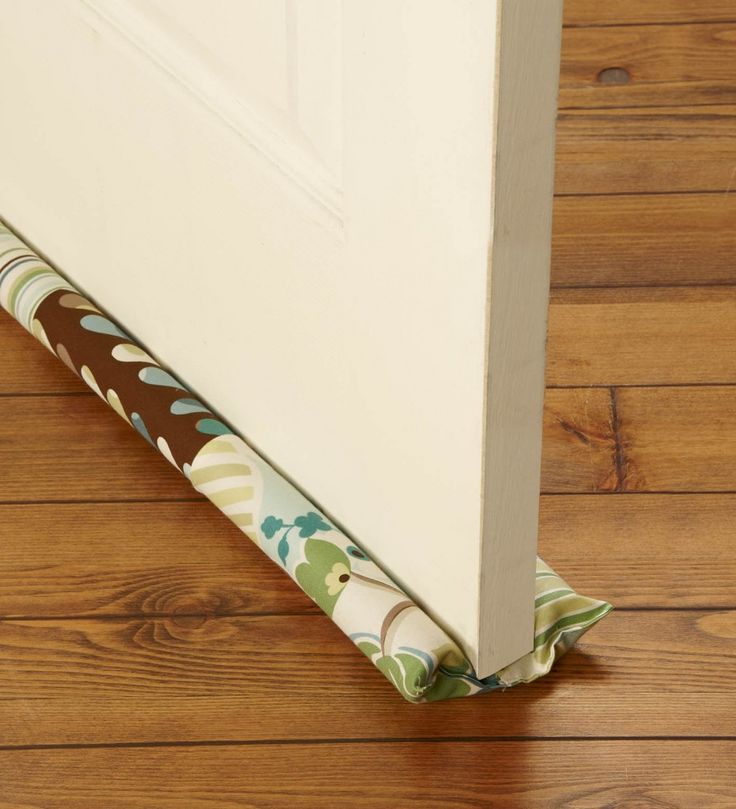 Simple DIY Make a Door Draft Stopper