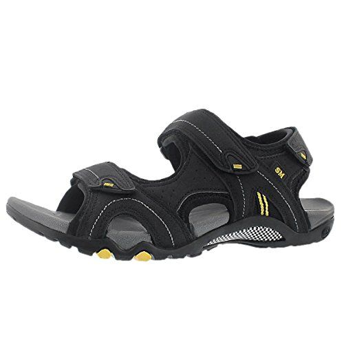 SoftMoc Men's Keegan Three Strap Sport Sandal Black 11 M US * Check out the  image