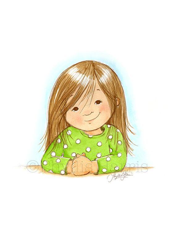 Little Girl by Phyllis Harris Designs