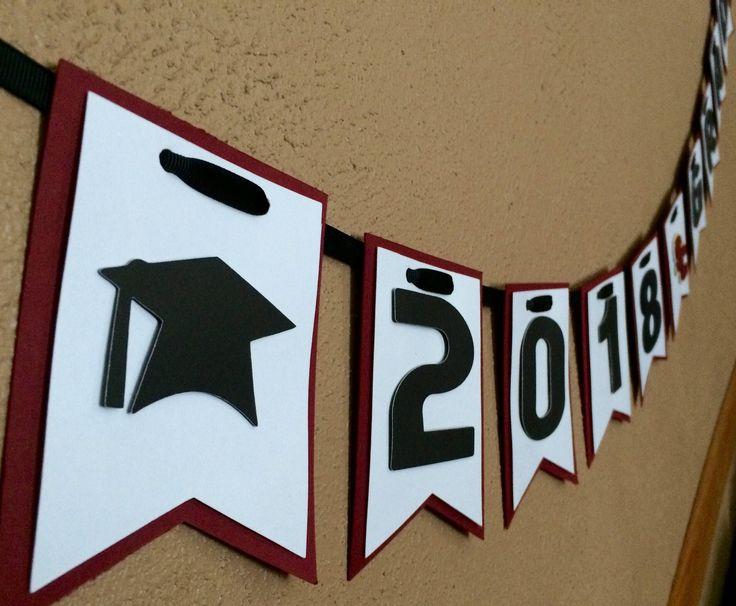 Class of 2019 Banner, 2019 Decor, Graduation Sign, Custom Graduation Banner, Graduation Party, 2019 Decor, 2019 Graduation, High School Graduate