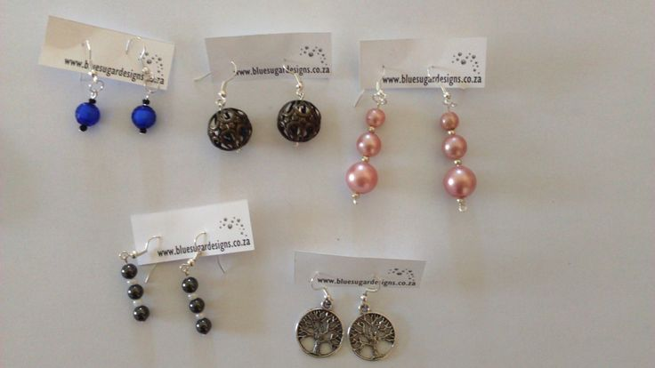 Earrings - choose from one of these or commission your own.