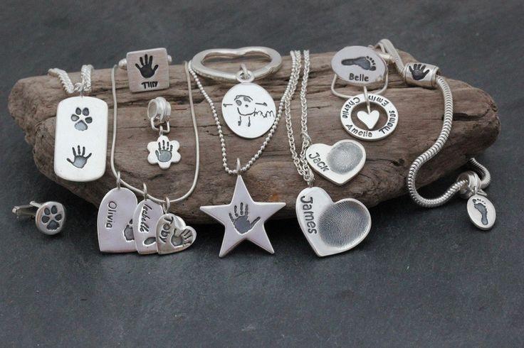 Aimi Charnell - Silver Handprints