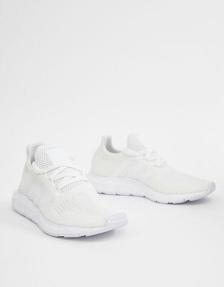 2b75e9a4e615e adidas Originals white Swift run sneakers