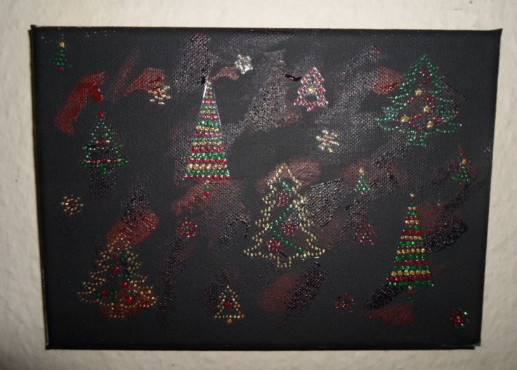 Christmas painting.