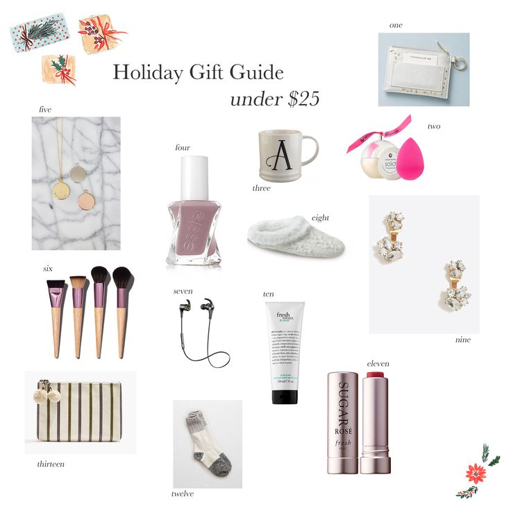 Holiday Gifts (for her) Under $25   The Small Things Blog   Bloglovin'