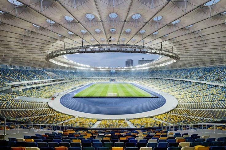 Kiev Olympic Stadium / gmp Architekten