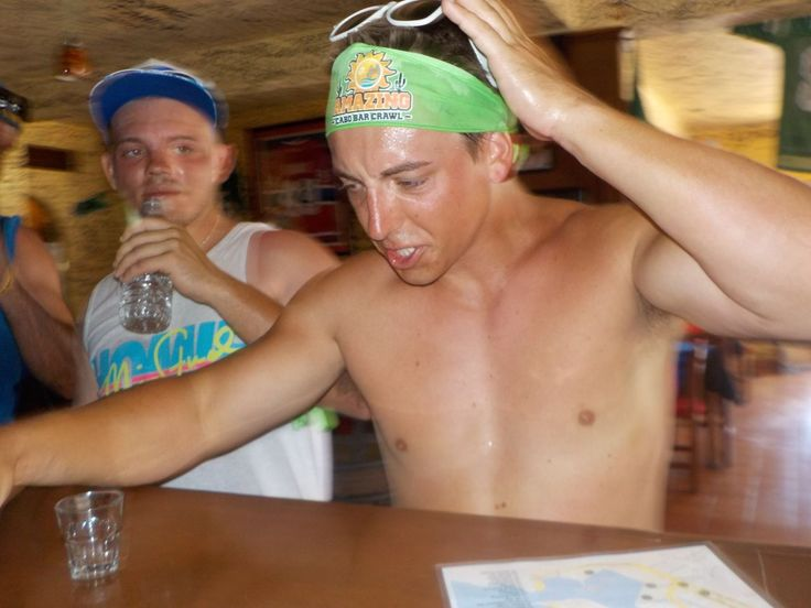 Gotta love that tequila face!